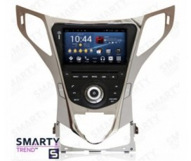 Штатная магнитола Hyundai Azera / Grandeur - Android - SMARTY Trend