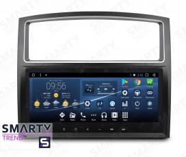 Штатная магнитола Mitsubishi Pajero - Android - SMARTY Trend