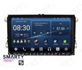 Универсальная магнитола Volkswagen / Skoda / Fiat / Seat– Android – SMARTY Trend