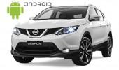 Nissan Qashqai - пример установки головного устройства SMARTY Trend