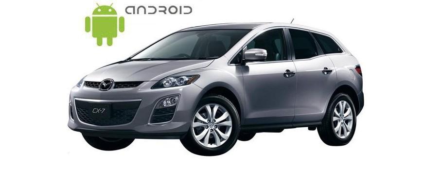 Mazda CX 7 - пример установки головного устройства SMARTY Trend