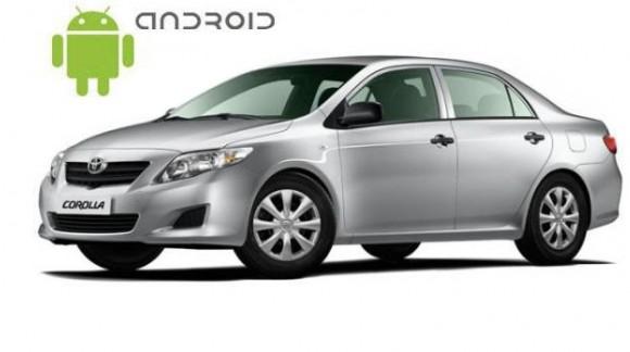 Toyota Corolla - пример установки головного устройства SMARTY Trend