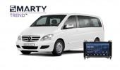 Mercedes-Benz Viano 2011 - пример установки головного устройства