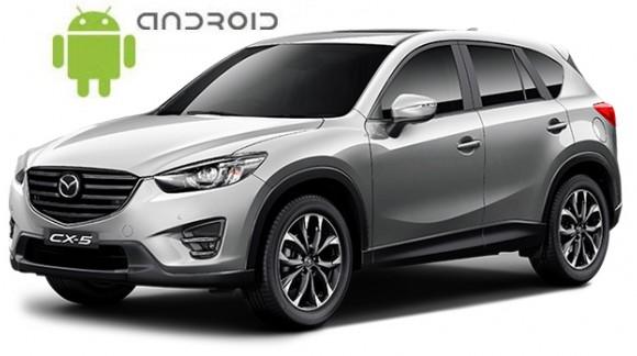 Mazda CX-5 - пример установки головного устройства SMARTY Trend