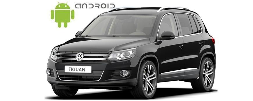 Volkswagen Tiguan - пример установки головного устройства SMARTY Trend