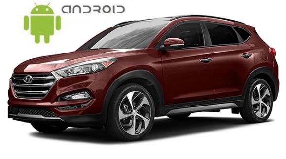Hyundai Tucson TL - пример установки головного устройства SMARTY Trend