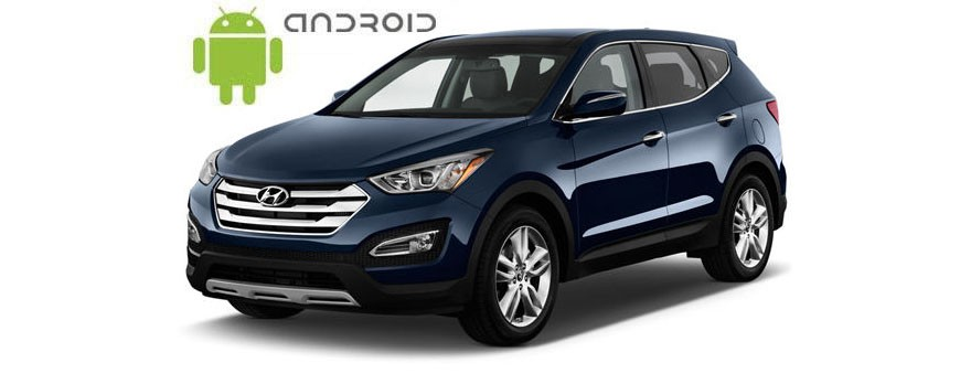 Hyundai Santa Fe  - пример установки головного устройства SMARTY Trend