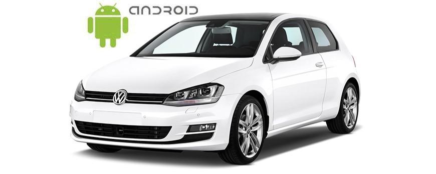Volkswagen Golf VII - пример установки головного устройства SMARTY Trend