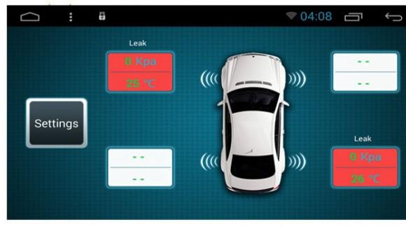 Специальное приложение для SMARTY Trend, контроль давления и температуры в шинах